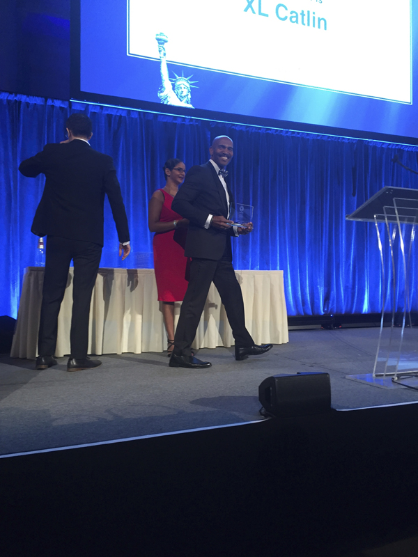 XL Catlin Bermuda Insurer of the Year October 3 2017 (2)