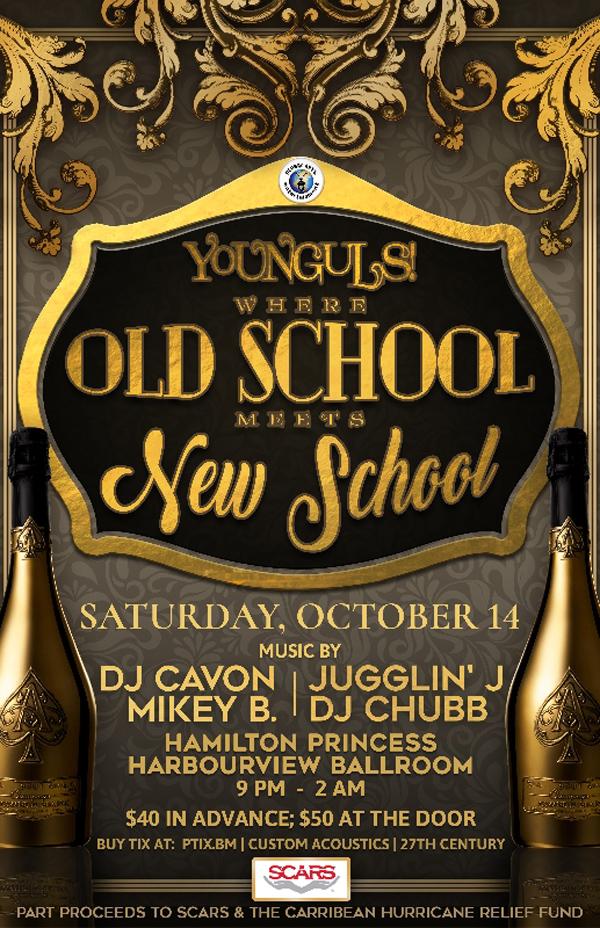 Younguls SCARS Fundraiser Bermuda Oct 2017