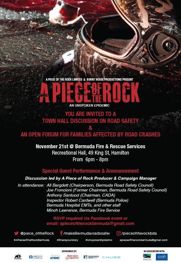 A Piece of the Rock Bermuda Nov 2017