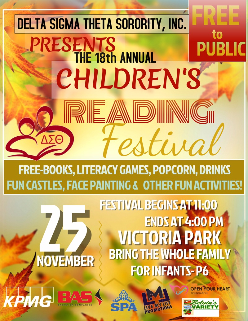 Annual Children's Reading Festival Bermuda Nov 23 2017