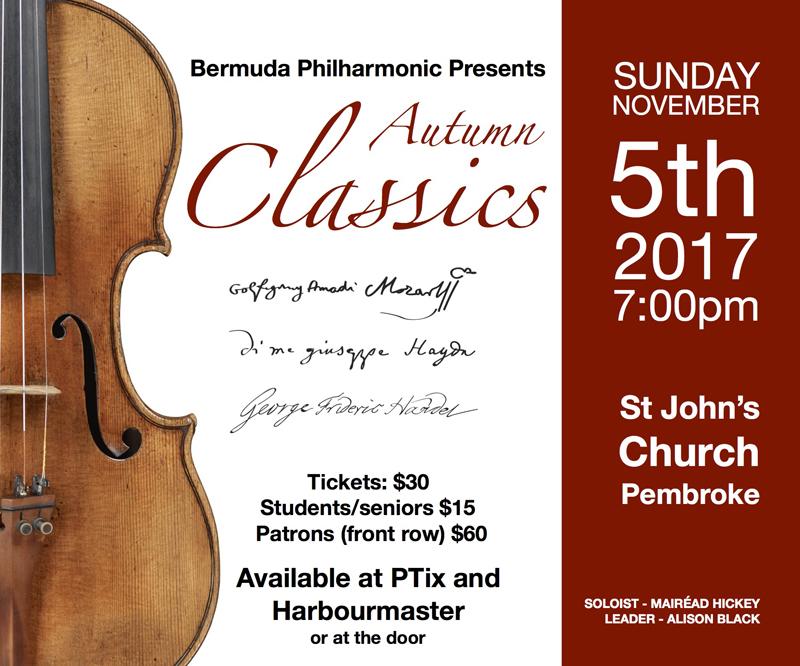 Autumn Classics - Philharmonic - Nov 5 Bermuda