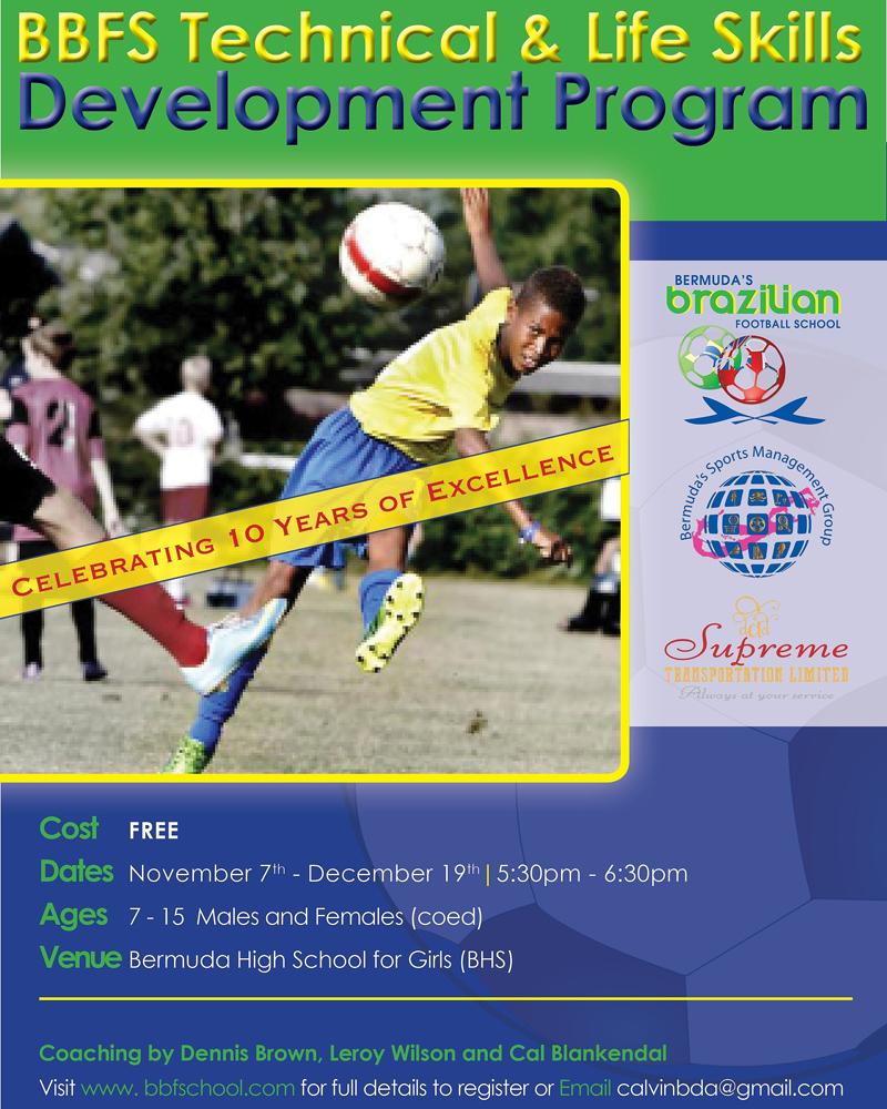 BBFS Life Skills Development Program Bermuda Nov 2017