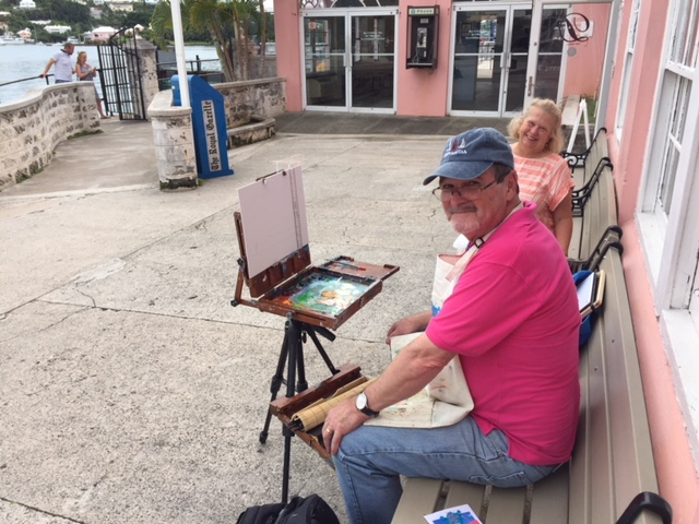 Bermuda Plein Air Festival Nov 2017 (2)