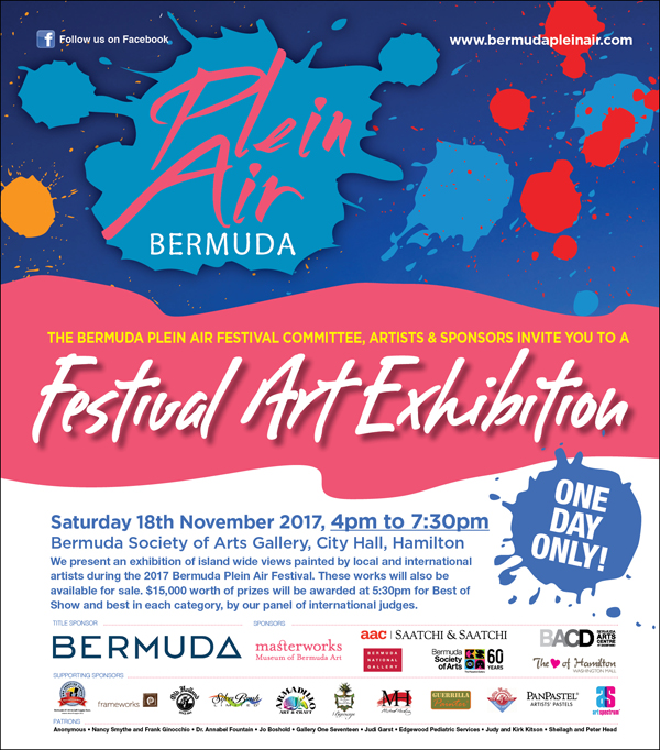 Bermuda Plein Air Festival Nov 2017