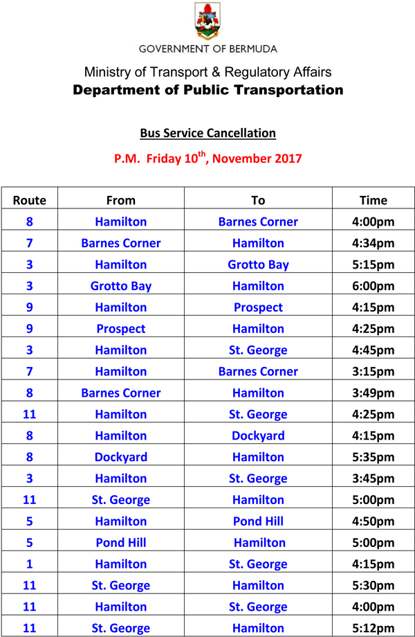 Bus Service Cancellations Friday 10-11-2017-1