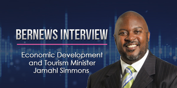 Economic Development and Tourism Minister Jamahl Simmons Bernews Podcast