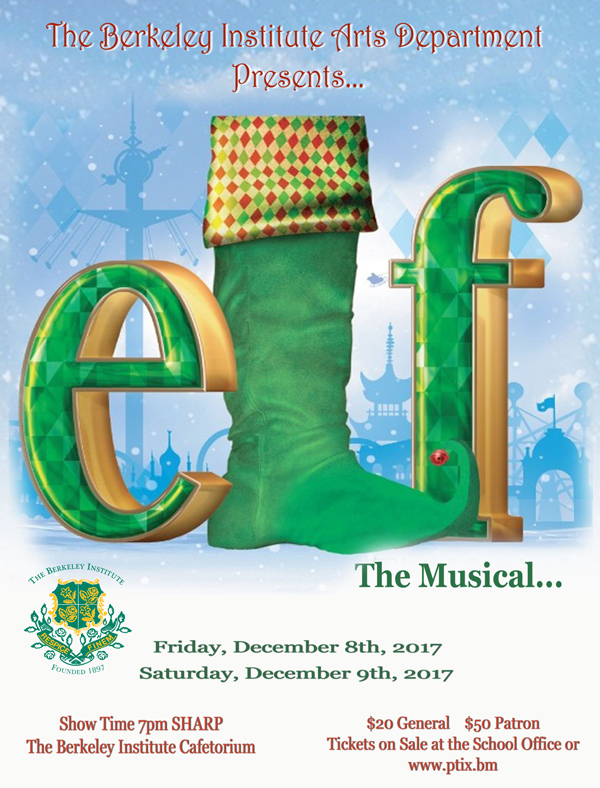 Elf The Musical Bermuda Nov 2017