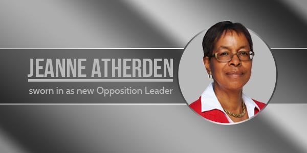Jeanne Atherden Bermuda new Opposition Leader 3