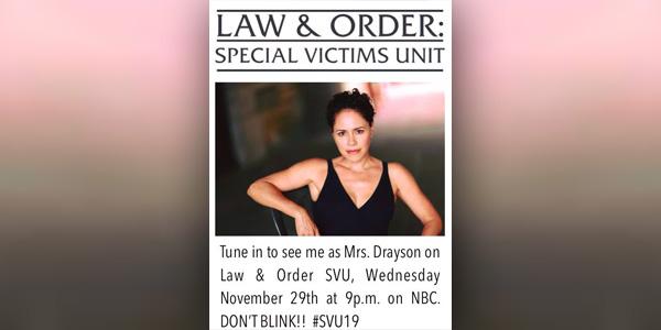 Lana Young Law & Order SVU Bermuda Nov 2017 TC