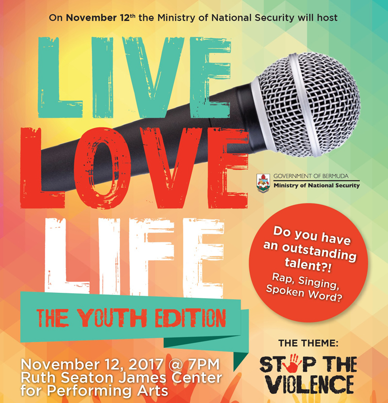 Live Love Life event Bermuda Nov 2017