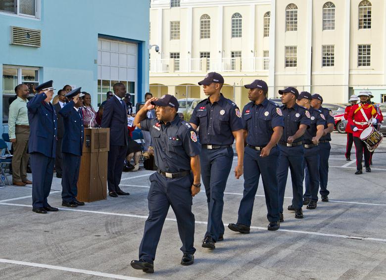 Minister & BFRS Bermuda Nov 2017 (1)
