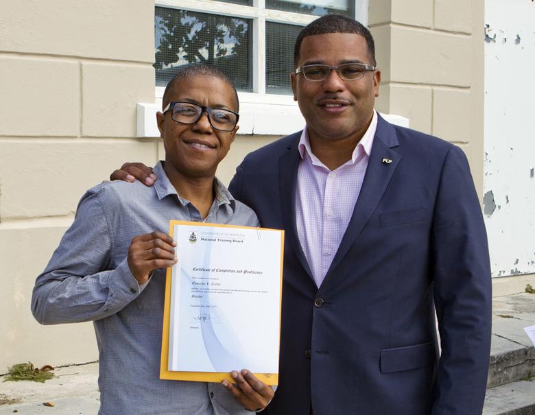 Minister Certificates Presentation Bermuda Nov 2017 (2)