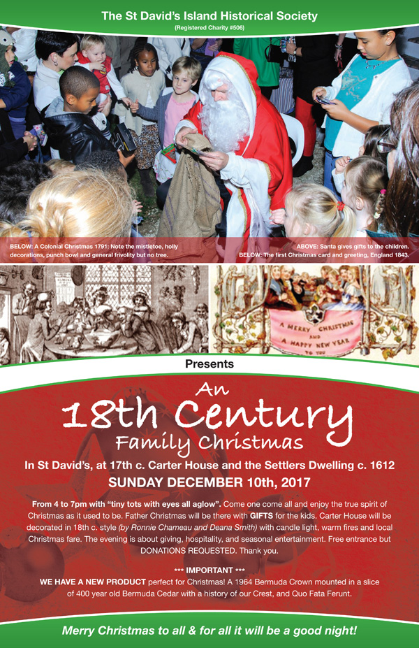 SDHS 18th Century Family Christmas Nov 2017