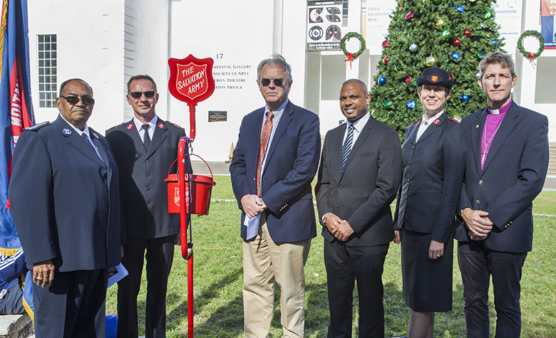 Vancouver Island Motorsport Circuit donates $500 to the Salvation Army's kettle campaign