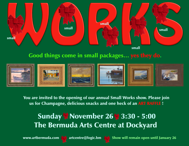 Small Works Show Bermuda Nov 2017