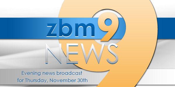 zbm 9 news Bermuda November 30 2017 TC