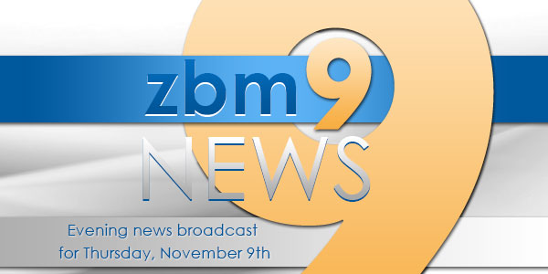 zbm 9 news Bermuda November 9 2017