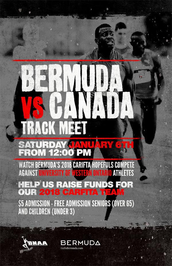 Bermuda vs Canada Track Meet Dec 2017