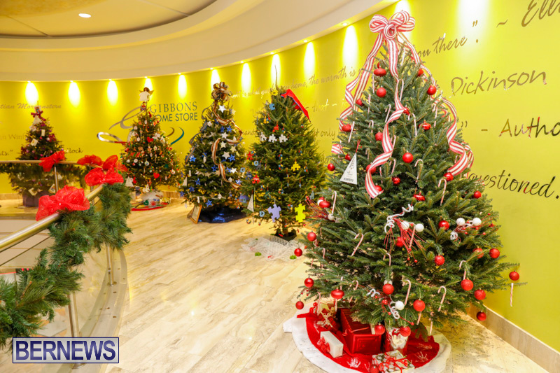 Christmas Trees Decorated.Photos Christmas Trees Decorated By Charities Bernews