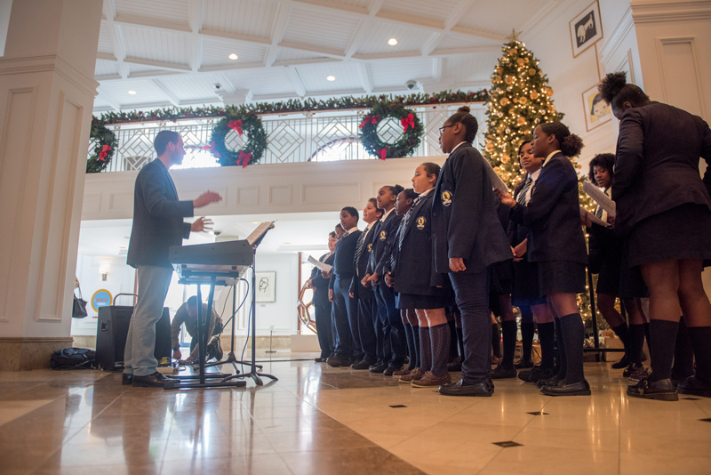Clearwater-Middle-School's-Choir-Bermuda-Dec-2017-3
