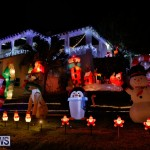 Flatts North Shore Road Christmas Decorations Lights Bermuda, December 20 2017-6860