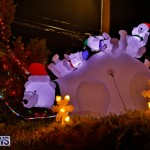 Flatts North Shore Road Christmas Decorations Lights Bermuda, December 20 2017-6872
