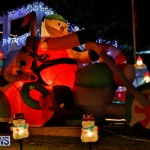 Flatts North Shore Road Christmas Decorations Lights Bermuda, December 20 2017-6920