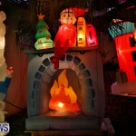 Flatts North Shore Road Christmas Decorations Lights Bermuda, December 20 2017-6944