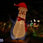 Flatts North Shore Road Christmas Decorations Lights Bermuda, December 20 2017-6996