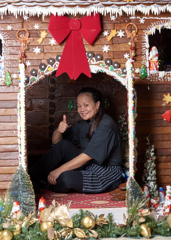 Hamilton Princess Bermuda 2017 Gingerbread House (4)