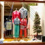Hamilton Storefronts Christmas Decorations Lights Bermuda, December 22 2017-7598
