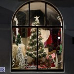 Hamilton Storefronts Christmas Decorations Lights Bermuda, December 22 2017-7608