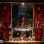 Hamilton Storefronts Christmas Decorations Lights Bermuda, December 22 2017-7614