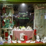 Hamilton Storefronts Christmas Decorations Lights Bermuda, December 22 2017-7616