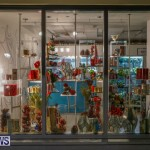 Hamilton Storefronts Christmas Decorations Lights Bermuda, December 22 2017-7628