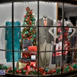 Hamilton Storefronts Christmas Decorations Lights Bermuda, December 22 2017-7640