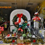 Hamilton Storefronts Christmas Decorations Lights Bermuda, December 22 2017-7689