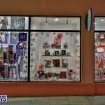 Hamilton Storefronts Christmas Decorations Lights Bermuda, December 22 2017-7705