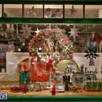 Hamilton Storefronts Christmas Decorations Lights Bermuda, December 22 2017-7801