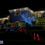 Jennings Road Christmas Decorations Lights Bermuda, December 20 2017-6777