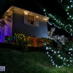 Jennings Road Christmas Decorations Lights Bermuda, December 20 2017-6797