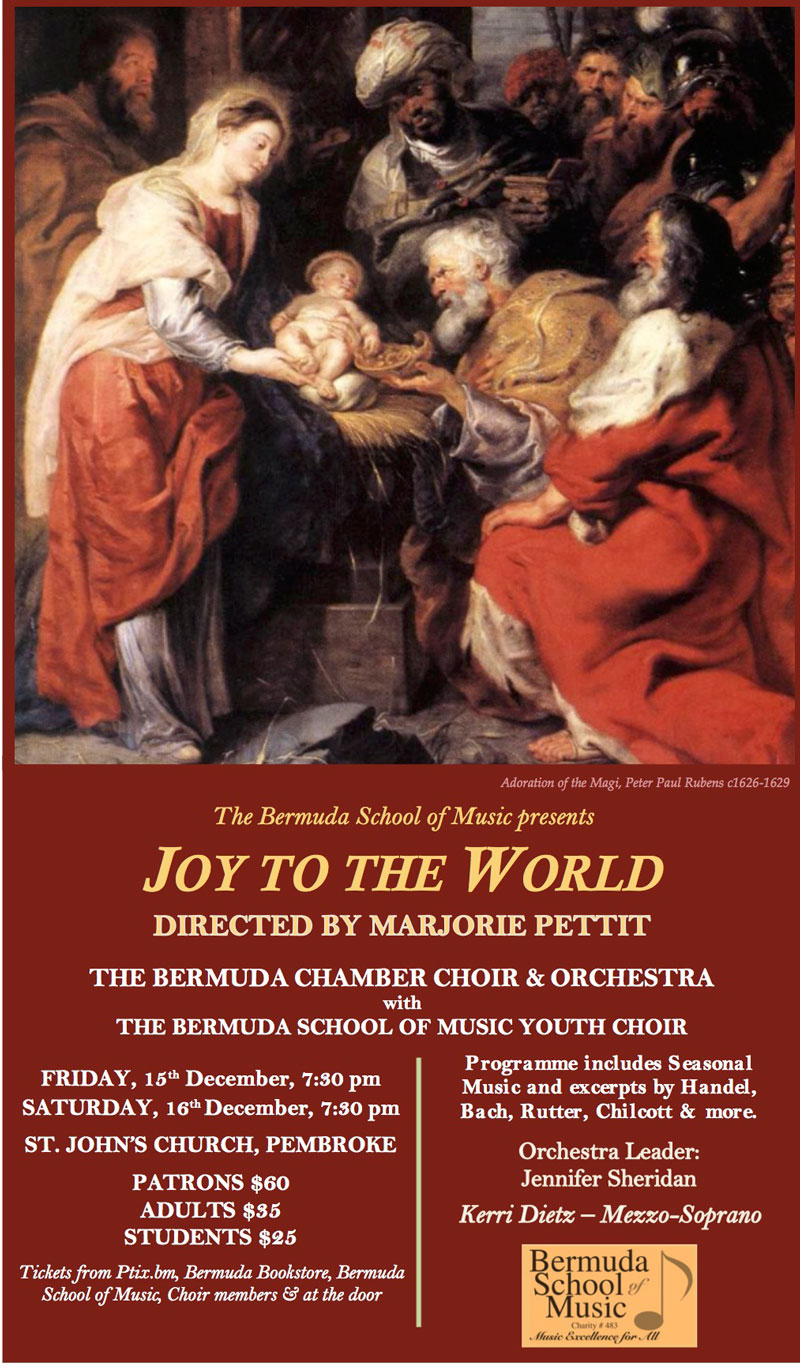 Joy to the World Poster DECEMBER 2017 rubens