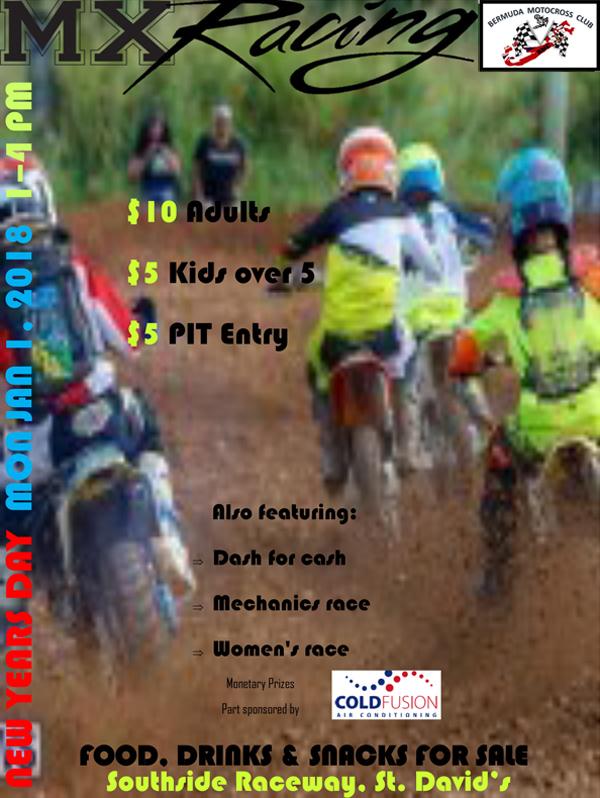 MX Racing Bermuda Dec 2017