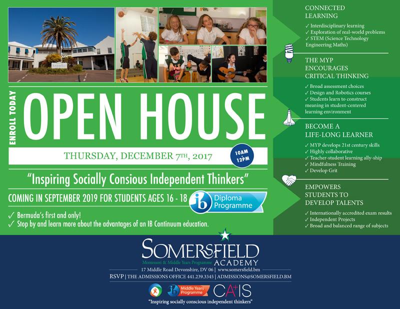 MYP OpenHouse Bermuda Dec 2017