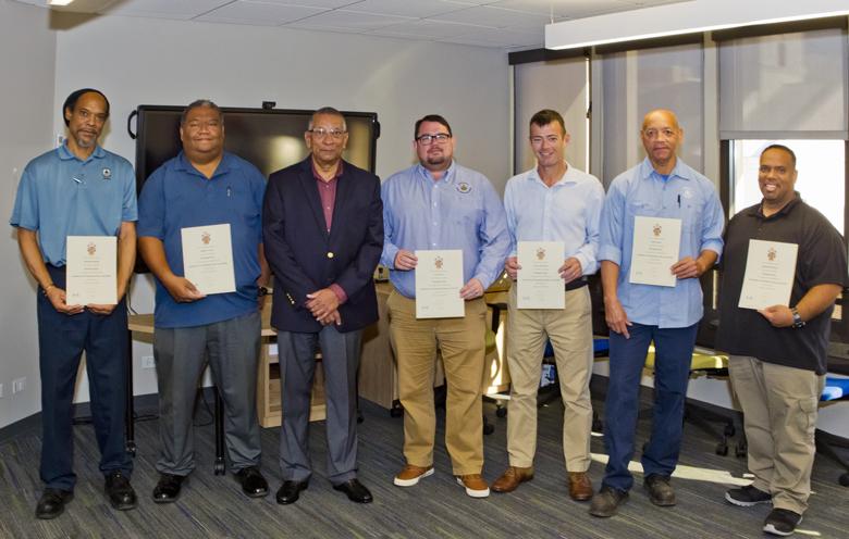 Minister Certificate Presentation Bermuda Dec 2017