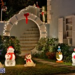 North Cote Close Christmas Decorations Lights Bermuda, December 20 2017-7036