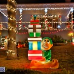North Cote Close Christmas Decorations Lights Bermuda, December 20 2017-7072
