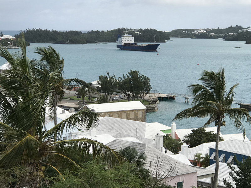 Oleander Container Ship Bermuda Dec 19 2017 (4)