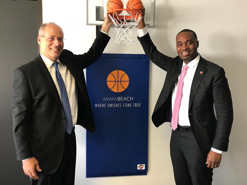 Premier David Burt in Miami Bermuda Dec 5 2017  (2)