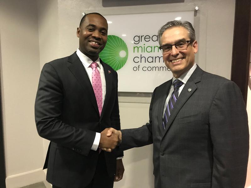 Premier David Burt in Miami Bermuda Dec 5 2017  (3)